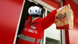 mcdonalds robot